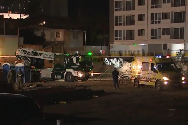 Trabajador cae a pozo de aproximadamente 20 metros en la comuna de Independencia