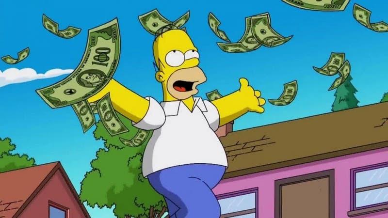 Ofrecen 5,5 millones de pesos (y donas) a quien vea todos los episodios de Los Simpson