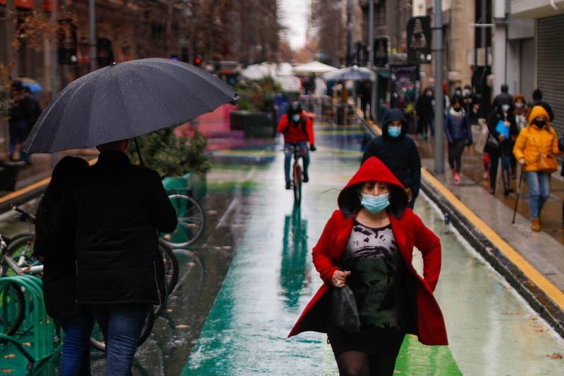Lluvia en Santiago: Leves precipitaciones para este jueves en la capital