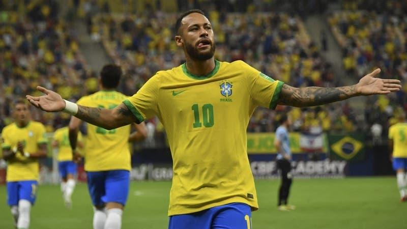 Brasil golea a Uruguay y se consolida como exclusivo líder de las Clasificatorias a Qatar 2022