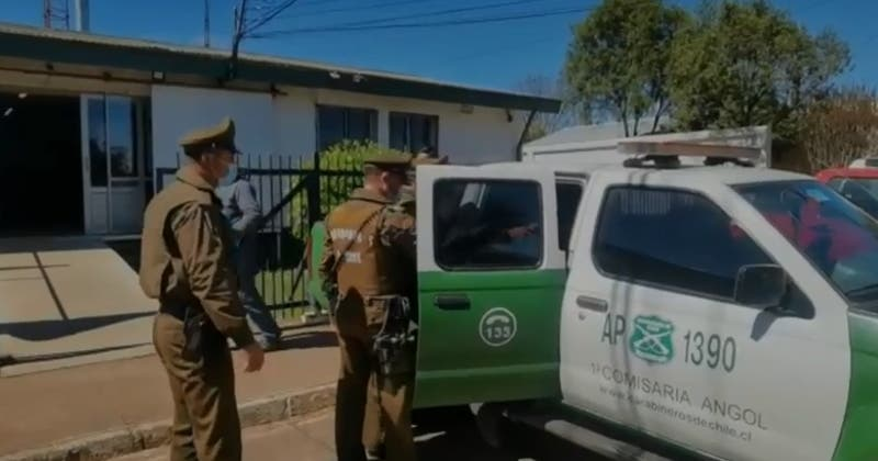 Confirmar a primer detenido en La Araucanía desde que se implementó estado de excepción
