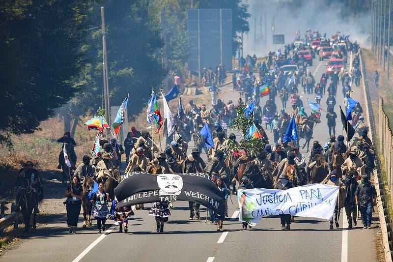 """Vocero de Temucuicui y presencia militar en La Araucanía: """"El pueblo mapuche se va a defender"""""""