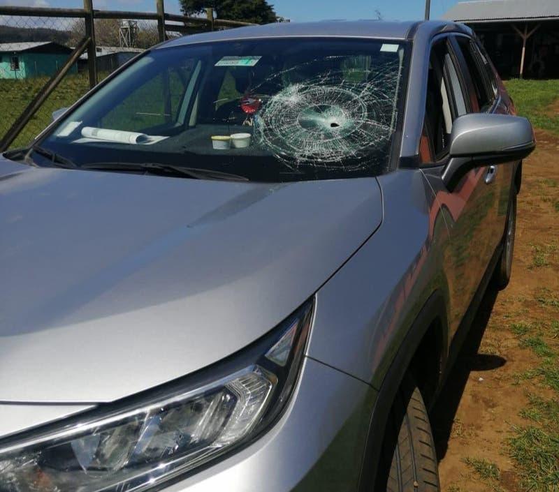 Desconocidos atacaron a un profesor en Tirúa en su intento frustrado por robarle el auto