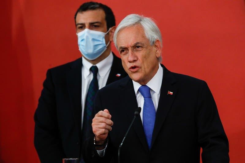 Presidente Piñera recibe Acusación Constitucional: Tiene 10 días para presentar su defensa