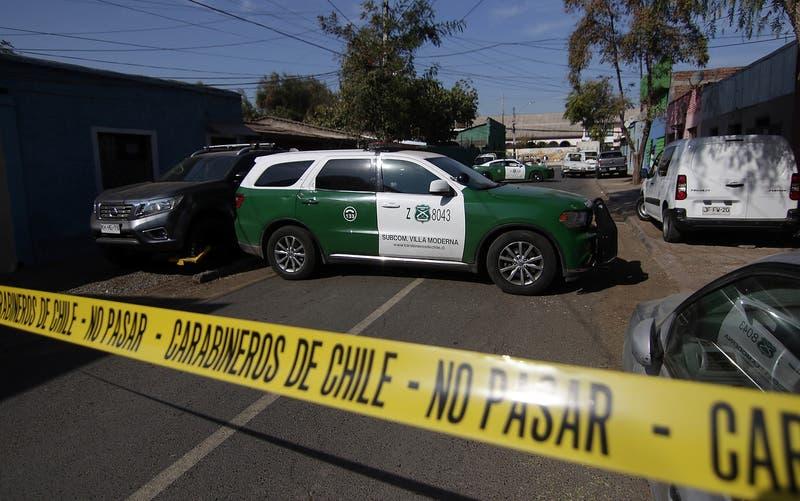 Hombre murió acribillado a balazos cuando visitaba a un amigo en Maipú