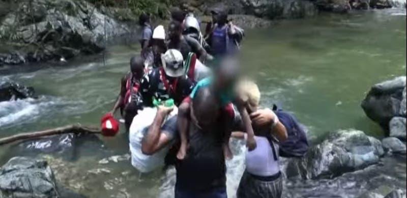 [VIDEO] La travesía más peligrosa de haitianos que dejan Chile rumbo a EE.UU