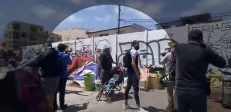 [VIDEO] Reportajes T13: Imágenes inéditas de la marcha en Iquique
