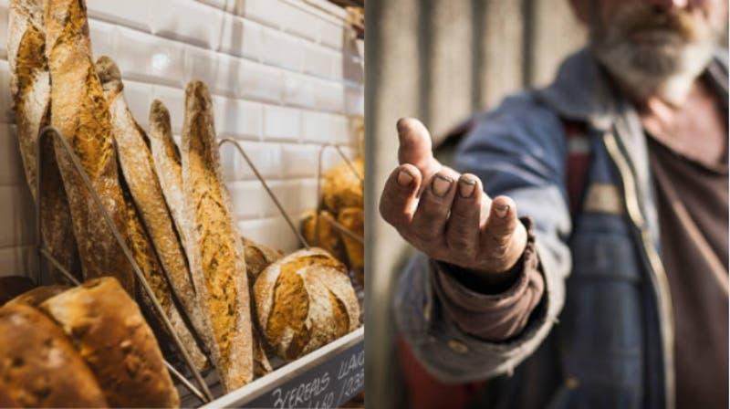 """""""Le devolveríamos el dinero"""": Persona roba en una panadería en Italia y regresa a pagar"""