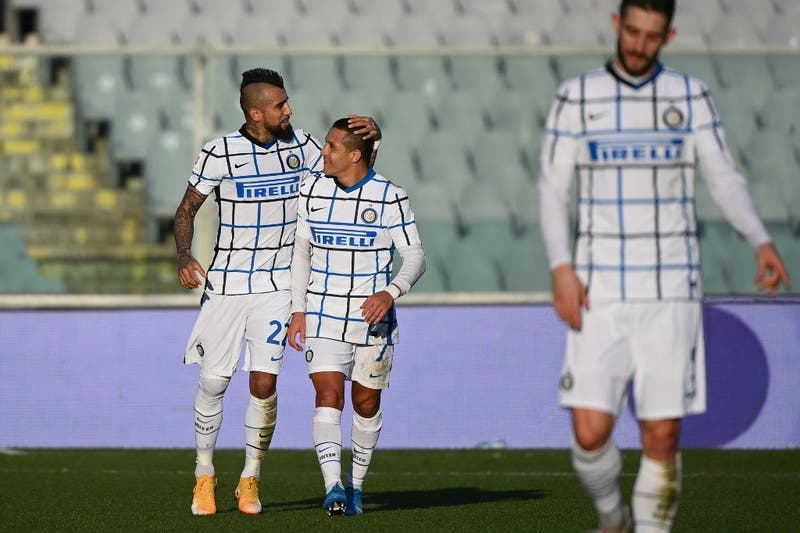 Alexis y Vidal vuelven a la convocatoria del Inter para el duelo frente al Sheriff por la Champions