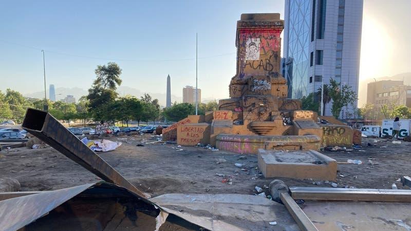 Evelyn Matthei cifra en más de $120 millones los daños tras desórdenes del 18 de octubre