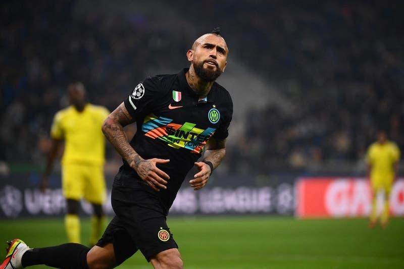 Inter de Milán vence al Sheriff Tiraspol con gol de Arturo Vidal y sigue vivo en la Champions