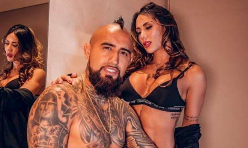 El romántico mensaje de Sonia Isaza a Arturo Vidal tras su gol en la Champions League