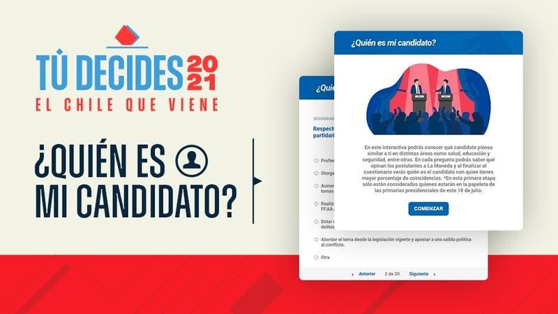 [INTERACTIVO] ¿Quién es mi candidato presidencial? Descúbrelo respondiendo las siguientes preguntas