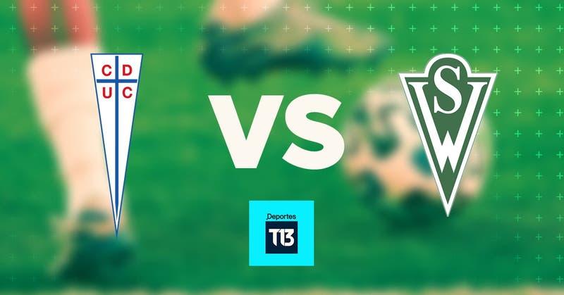 [Relato EN VIVO] La UC recibe a Santiago Wanderers con la mira puesta en alcanzar a Colo Colo