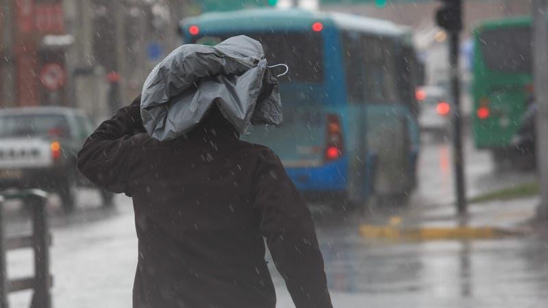 Pronostican precipitaciones para cinco regiones del país durante este jueves