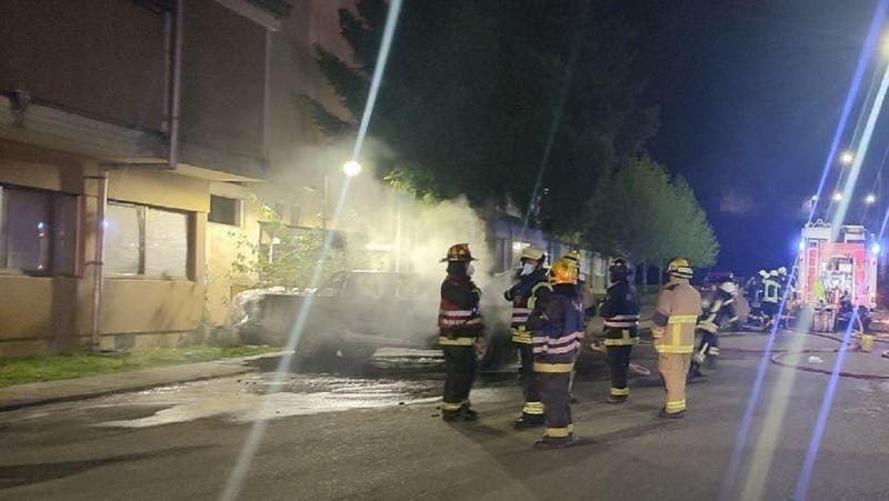Ataque incendiario en facultad de la Universidad de Concepción deja dos vehículos quemados