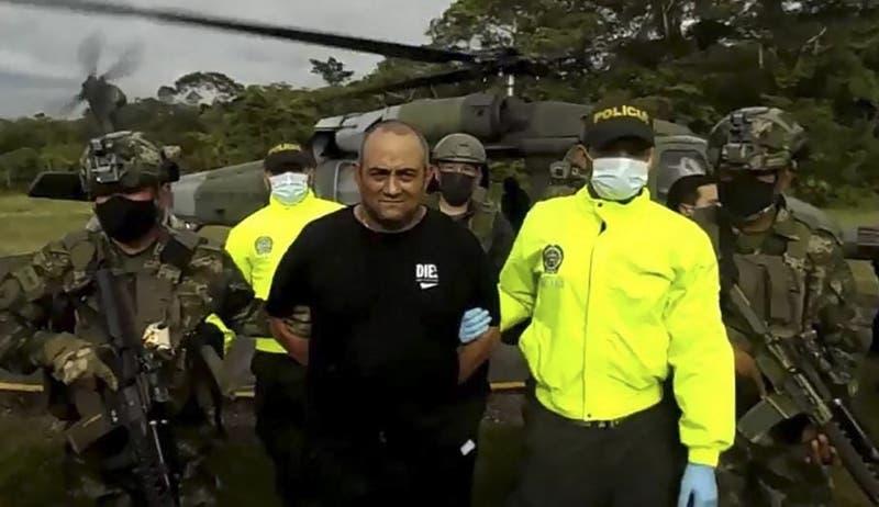 """Capturan a """"Otoniel"""", el principal capo del narcotráfico en Colombia"""