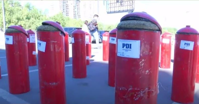 [VIDEO] En extintores escondían droga avaluada en más de $2 mil millones de pesos