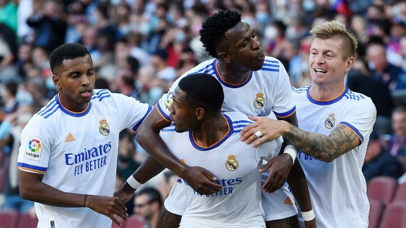 Real Madrid se impone en el Clásico de España y derrota a domicilio al Barcelona