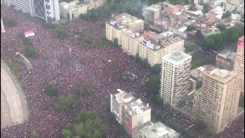 """A dos años de la """"Marcha más grande de Chile"""""""